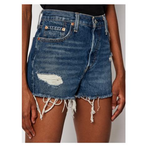 Levi's® Szorty jeansowe 501® High-Waisted 56327-0018 Granatowy Regular Fit Levi´s