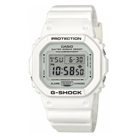 G-Shock Zegarek DW-5600MW-7ER Biały Casio