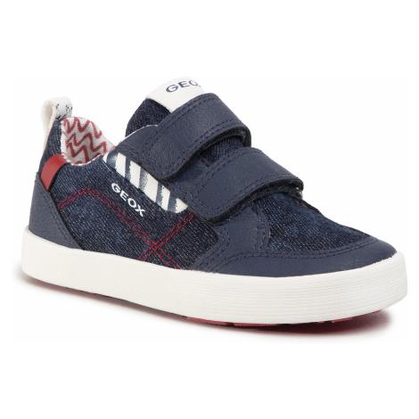 Sneakersy GEOX - B Kilwi B. G B02A7G 013BU C0200 S Blue/Red
