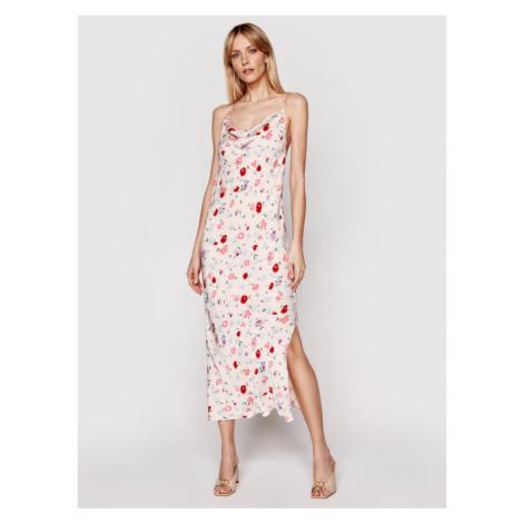 Samsøe Samsøe Sukienka letnia Apples Ml F21100108 Różowy Slim Fit