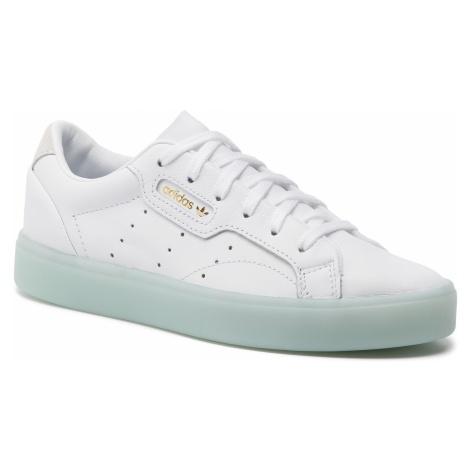 Buty adidas - Sleek W G27342 Ftwwht/Ftwwht/Icemin