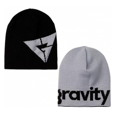 czapka Gravity Logo Revesible - Black/Gray