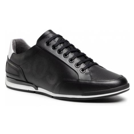 Boss Sneakersy Saturn 50452031 10231638 01 Czarny Hugo Boss
