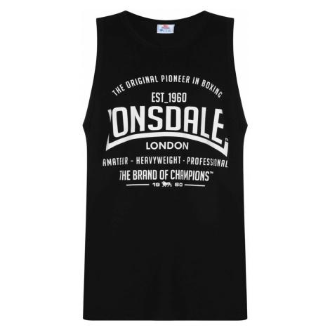Lonsdale Boxing Vest Top Mens