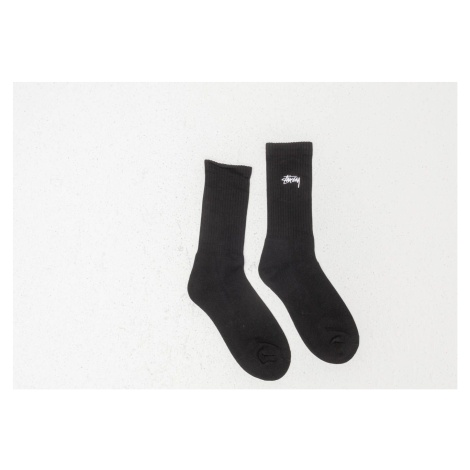 Stüssy Small Stock Crew Socks Black Stussy