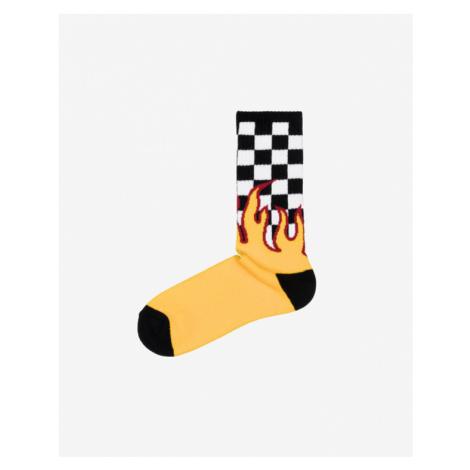 Vans Flame Check Skarpetki Czarny Żółty