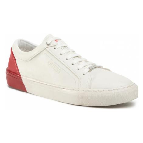 Guess Sneakersy Luis Jr FJ5LUI ELE12 Biały