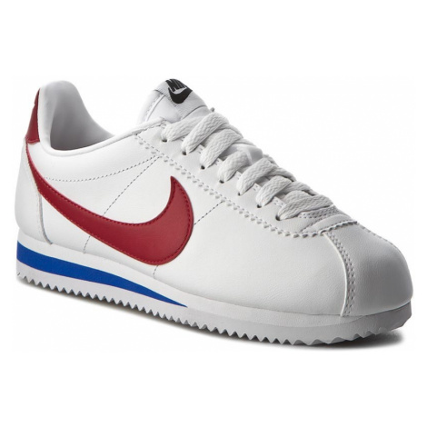 Buty NIKE - Classic Cortez Leather 807471 103 White/Varsity Red