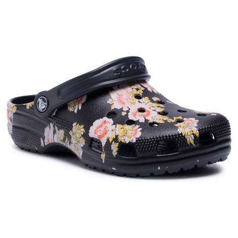 Klapki CROCS - Classic Printed Floral 206376 Black/Floral