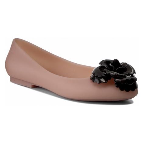 Baleriny MELISSA - Doll Fem Ad 32210 Pink/Black 52658