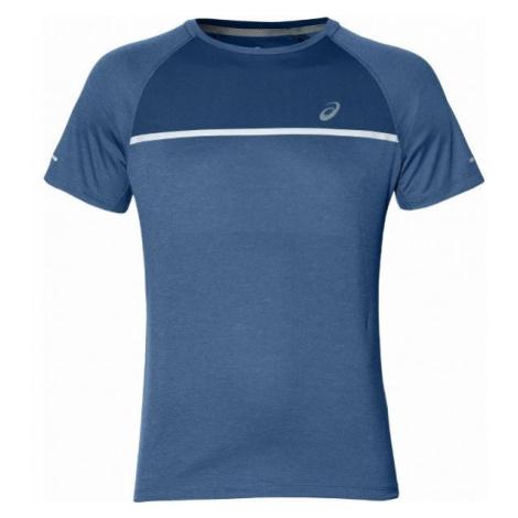 Asics SS TOP niebieski M - Koszulka do biegania męska
