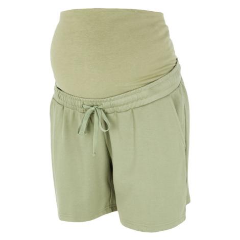 MAMALICIOUS Spodnie zielony Mama Licious