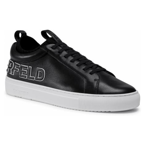 Sneakersy KARL LAGERFELD - KL51026 Black Lthr