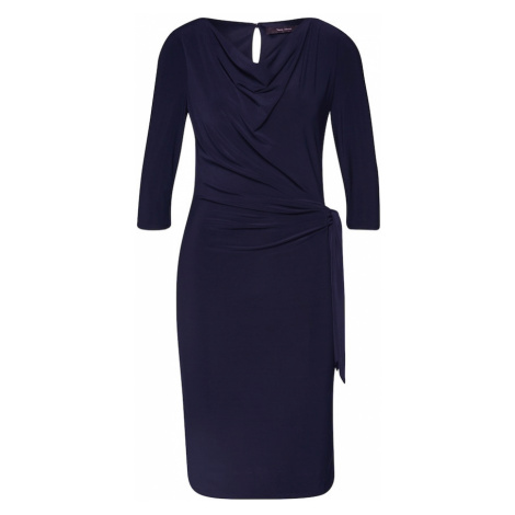 Vera Mont Sukienka etui ciemny niebieski