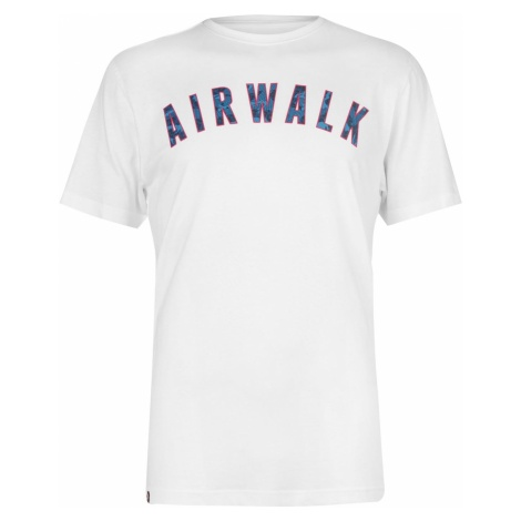 Airwalk Camo Ringer T Shirt Mens
