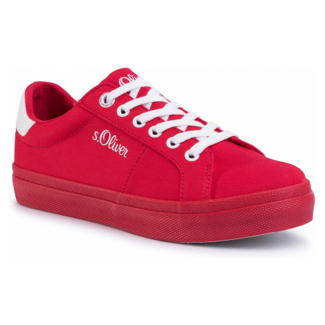 Sneakersy S.OLIVER - 5-23621-24 Red 500