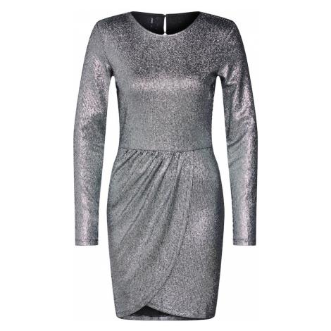 ONLY Sukienka koktajlowa 'ALESSA' czarny / srebrny