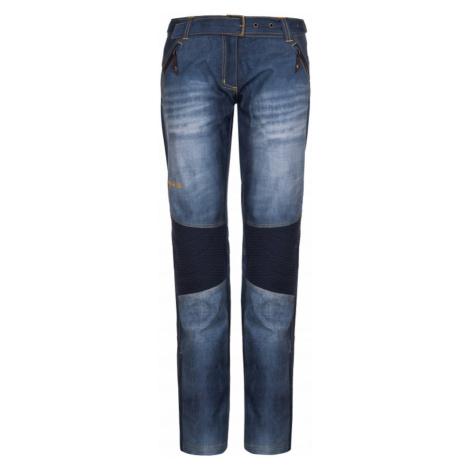 Damskie spodnie softshell Jeanso-w blue - Kilpi