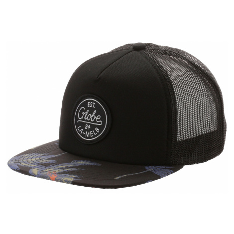 czapka z daszkiem Globe Expedition II Trucker - Black