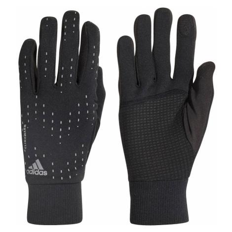 Rękawiczki adidas Run Gloves Czarne