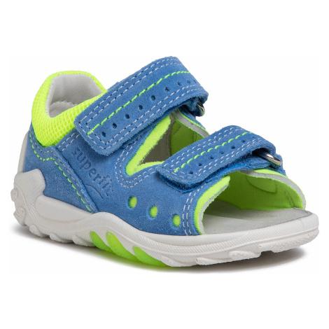 Sandały SUPERFIT - 6-00030-80 M Blau/Gelb