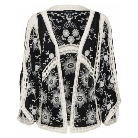 NEW LOOK Kimono kremowy / czarny
