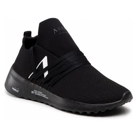 Sneakersy ARKK COPENHAGEN - Raven Fg Pet 2.0 PWR55 CO1417-0099-M Triple Black/White