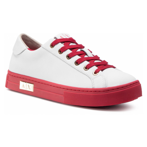Sneakersy ARMANI EXCHANGE - XDX027 XCC14 A041 Op.White/Red