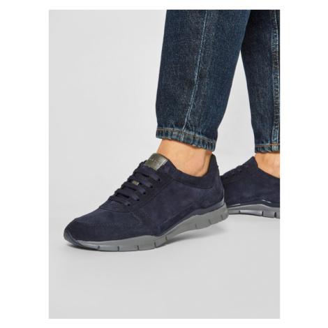 Geox Sneakersy D Sukie C D94F2C 00020 C4002 Granatowy