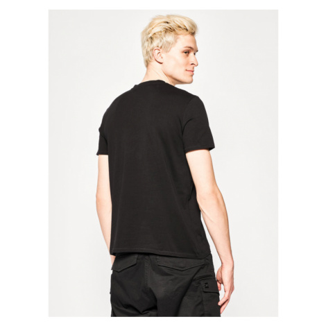 Just Cavalli T-Shirt S01GC0614 Czarny Regular Fit