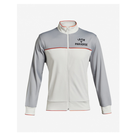 Under Armour Project Rock Knit Track Bluza Szary Beżowy