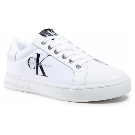 Sneakersy CALVIN KLEIN JEANS - Cupsole Sneaker Laceup YM0YM00029 Bright White YAF
