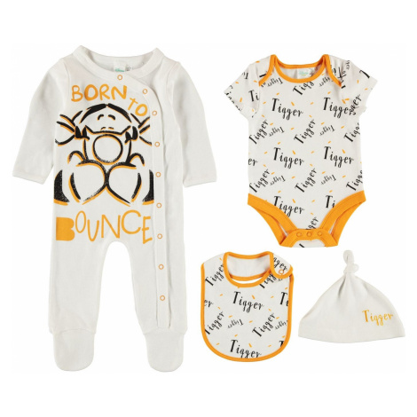 Character 4 Piece Romper Set Baby