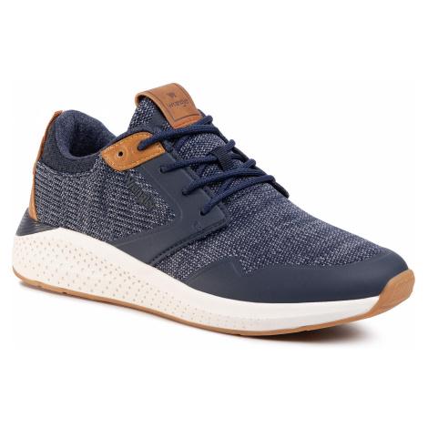 Sneakersy WRANGLER - Sequoia WM01072A Navy 016