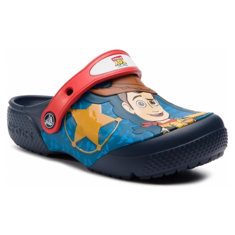 Klapki CROCS - Crocsfl Buzz Woody 205493 Navy