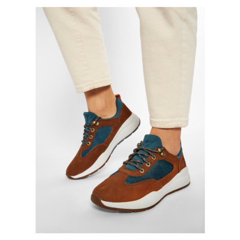 Timberland Sneakersy Boroughs Low Sneaker Hkr TB0A2CMCF13 Brązowy