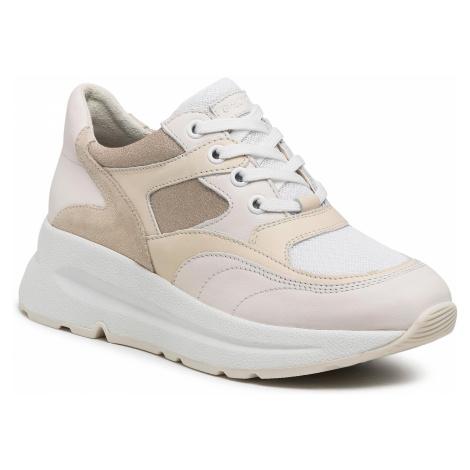 Sneakersy GEOX - D15FLA 00085 C1626 Off White/Cream