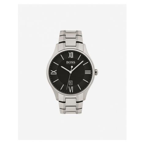BOSS Zegarek Srebrny Hugo Boss