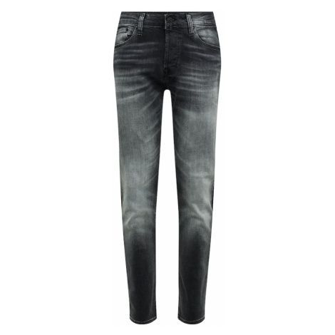 JACK & JONES Jeansy 'JJITIM JJICON JJ 171 NOOS' czarny denim