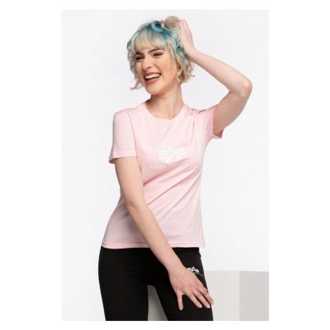 Koszulka Alpha Industries New Basic T Wmn 491 Pastel Pink