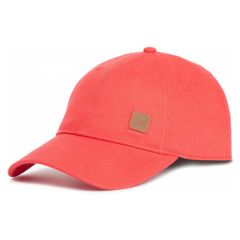 Czapka z daszkiem BUFF - Baseball Cap Solid 117197.425.10.00 Red