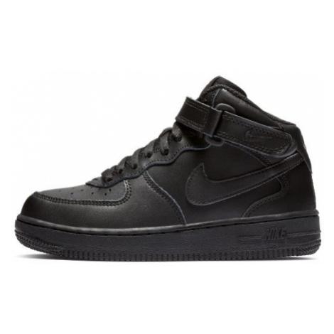 Buty dla małych dzieci Nike Force 1 Mid - Czerń