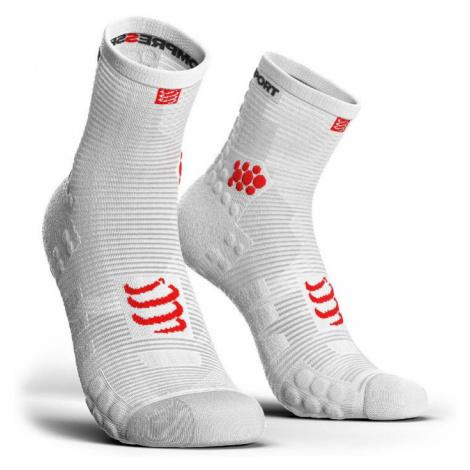 Skarpetki Compressport Pro Racing Socks V3 Run High U Białe