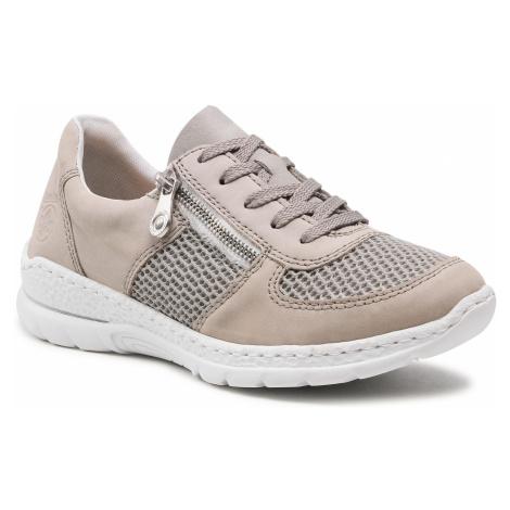 Sneakersy RIEKER - N2230-40 Grau