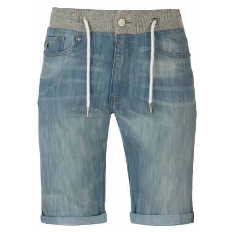 No Fear Rib Waist Denim Shorts Mens