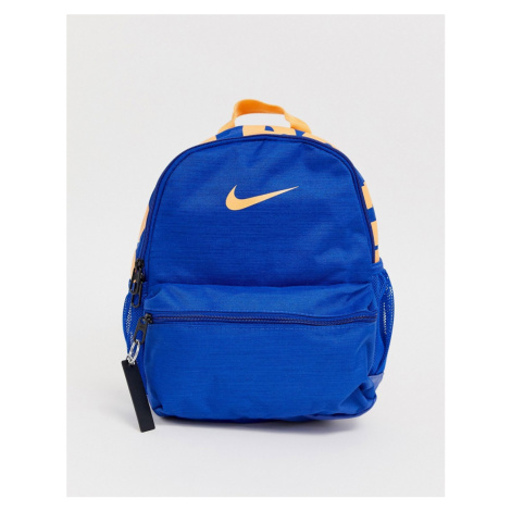 Nike navy blue just do it backpack
