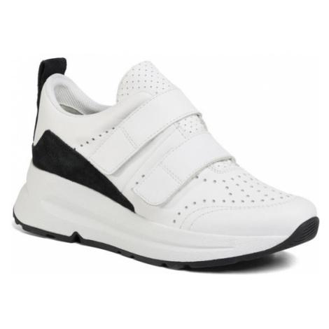 Geox Sneakersy D Backsie B D02FLB 08522 C0404 Biały