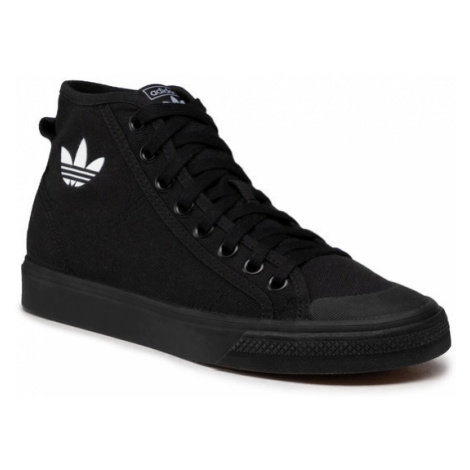 Adidas Buty Nizza Hi B41651 Czarny