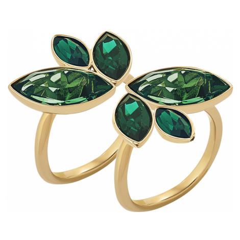 Zielone damskie pierścionki