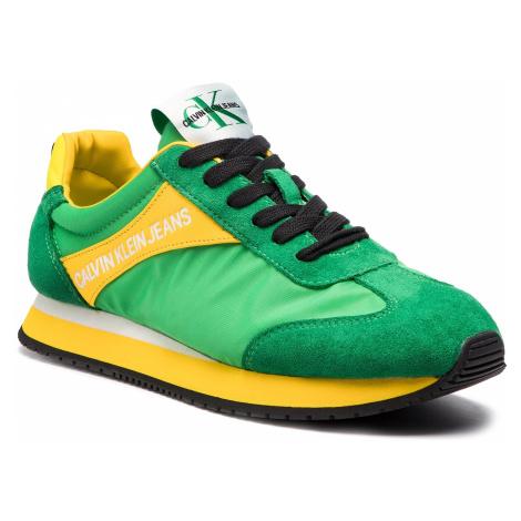 Sneakersy CALVIN KLEIN JEANS - Jerrold S0615 Multi Green